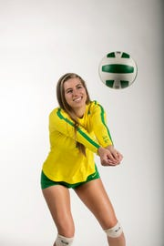 Paris Thompson, Fort Myers High School, Volleyball, Fall All-Area athletes