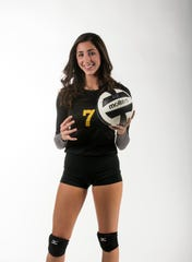 Sophia Shahriari, Bishop Verot, Volleyball, Fall All-Area athletes