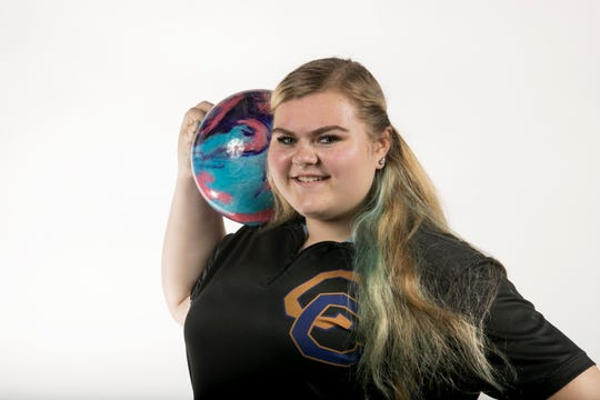 Jasmine Salavics, Cape Coral High School, Bowling, Fall All-Area athletes