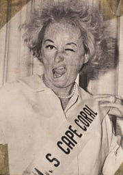 "Comedian Phyllis Diller in a publicity photo for the 1966 movie ""The Fat Spy."" Photo courtesy of the Cape Coral Historical Society and Museum"