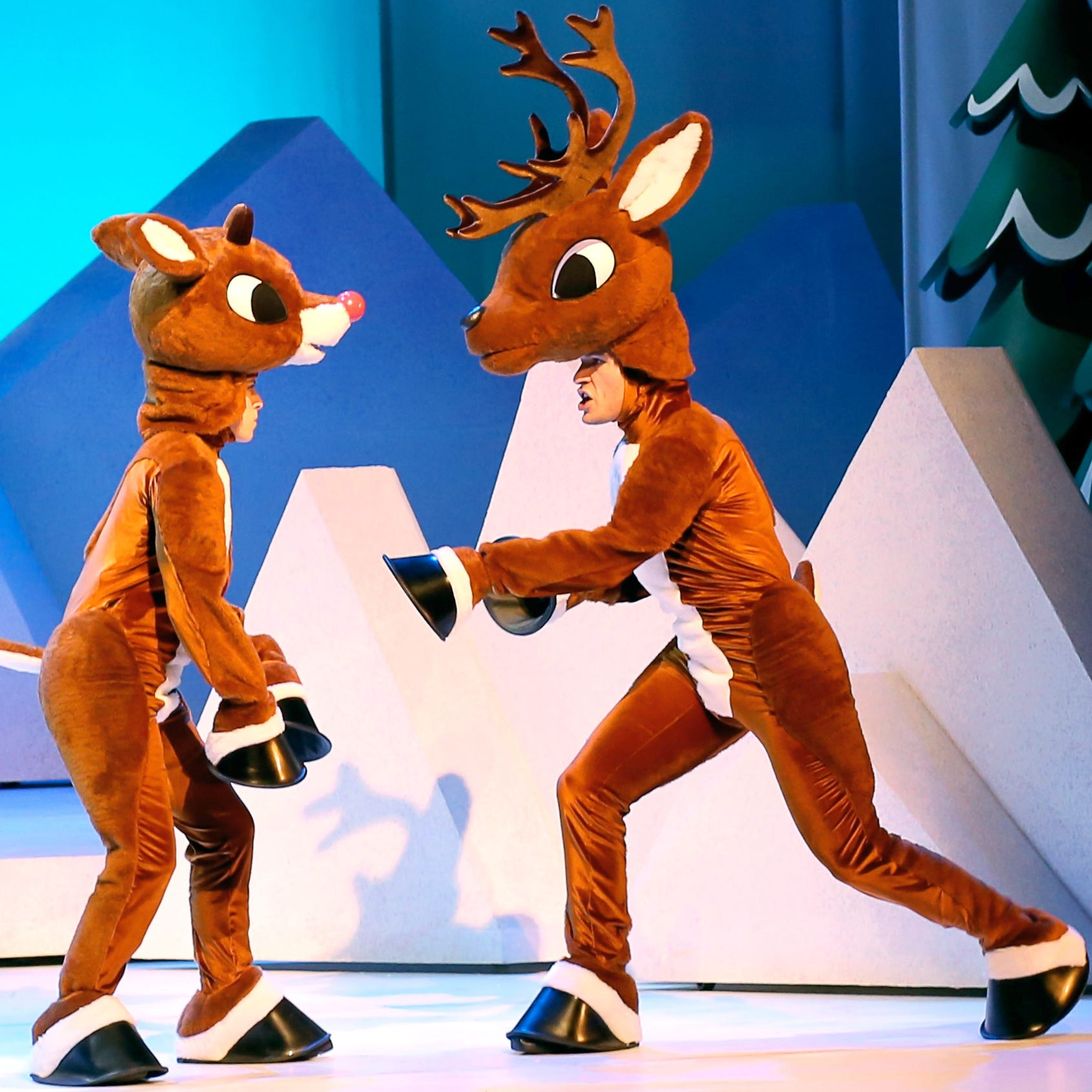 Rudolph the Red-Nosed Reindeer lights the way at Hertz Arena in musical based on TV special