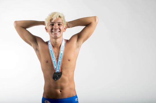 Steven Rua, Cape Coral High School, Swimming, Fall All-Area athletes