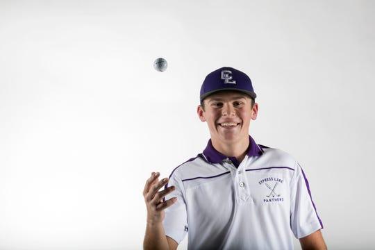 Tyler Humphrey, Cypress Lake High School, Golf, Fall All-Area Athletes