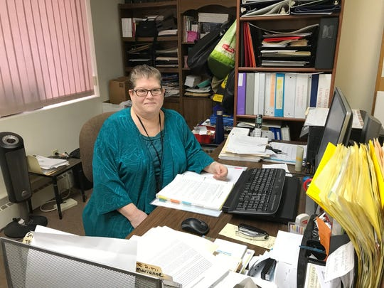 Ann Bennett, Director of Neighbor to Neighbor in her Sturgeon Bay office Dec. 5, 2018.