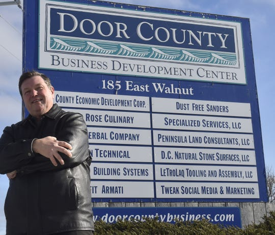 The Door County Economic Development Corporation provides a business development center at its west side location inside the Sturgeon Bay Industrial Park. The DCEDC's new executive director is Jim Schuessler. Tina M. Gohr/USA TODAY NETWORK-Wisconsin