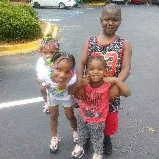 Jacqueline Brown's children