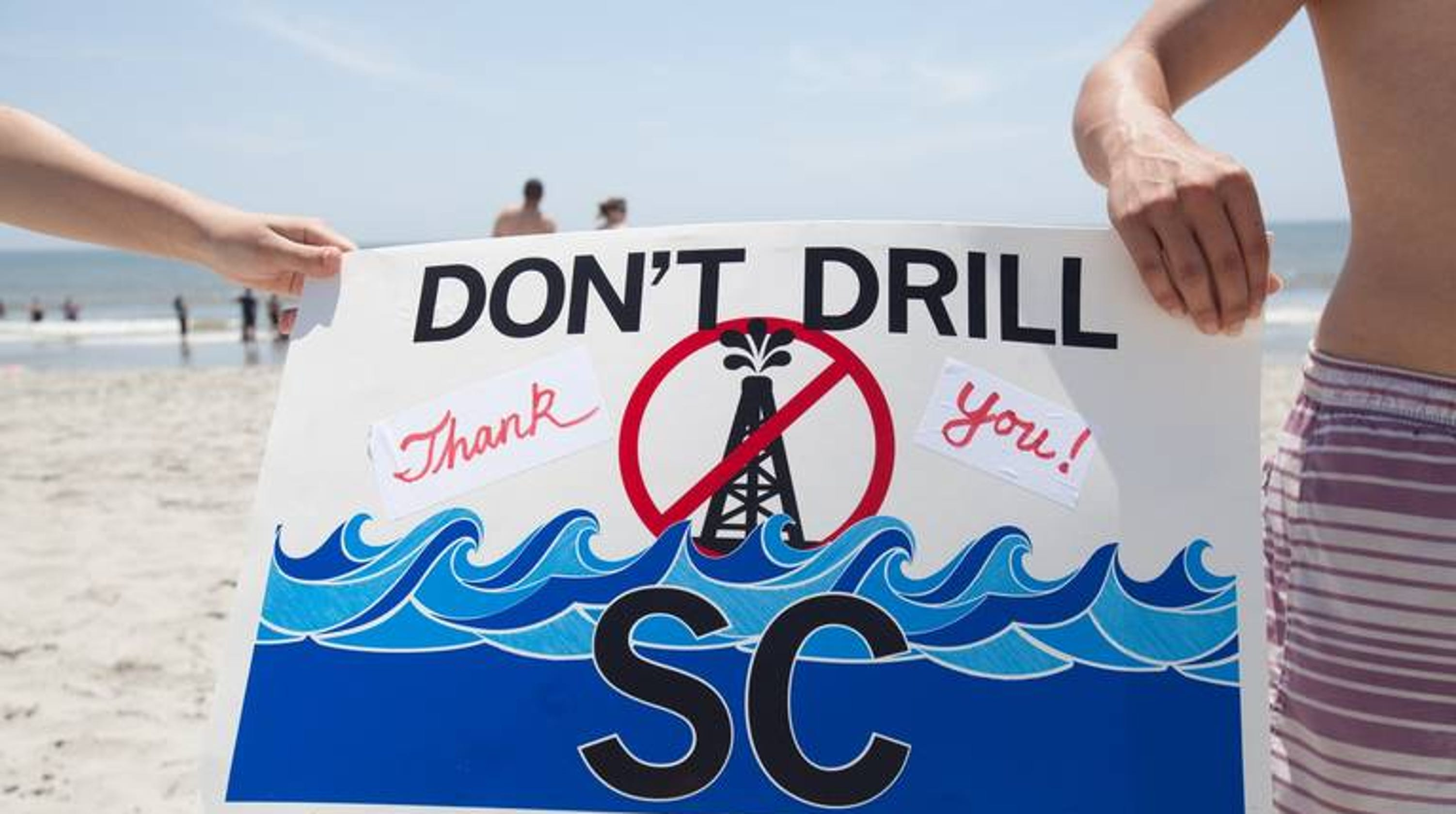 Oil drilling near the beach is not a popular idea in SC