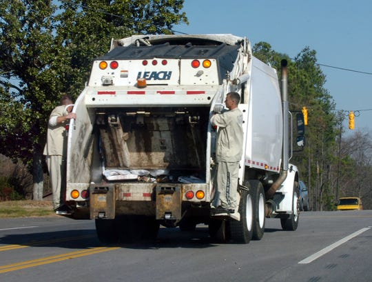 Memorial Day will alter the trash collection schedule for the week.
