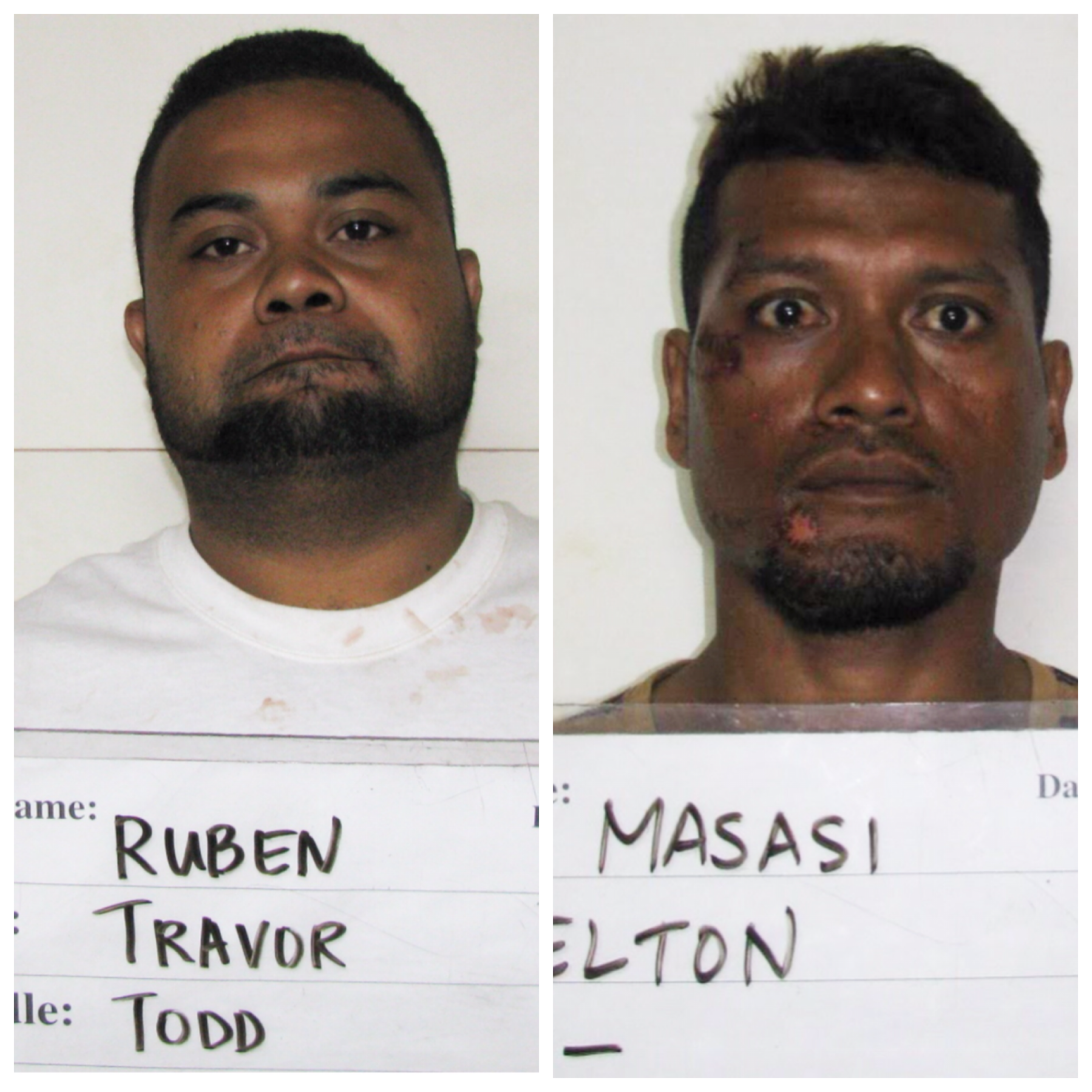 Travor Todd Ruben, Elton Masasi charged in road rage attack