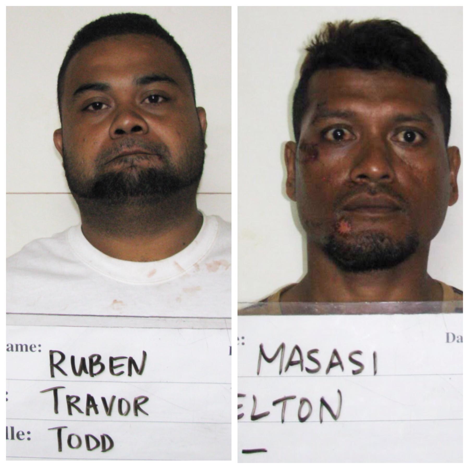 Travor Todd Ruben, Elton Masasi charged in road rage attack