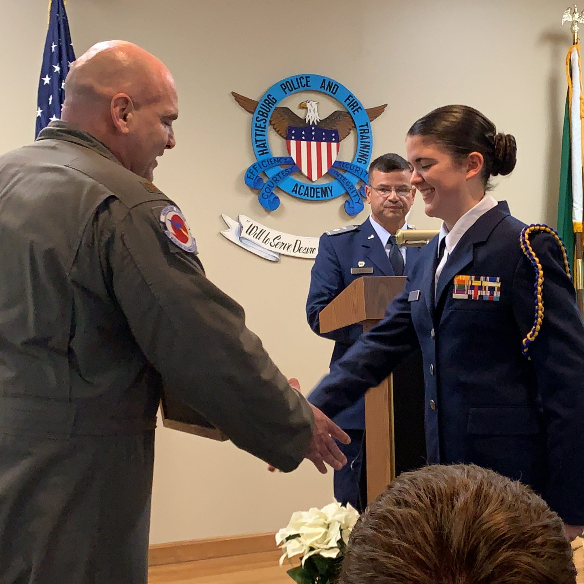 Teen becomes first Pine Belt female to receive Civil Air Patrol award