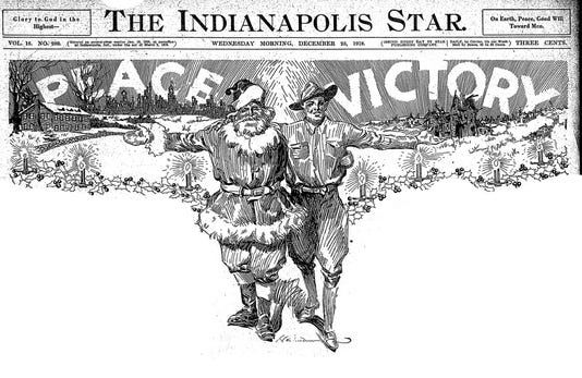 The Indianapolis Star Wed Dec 25 1918