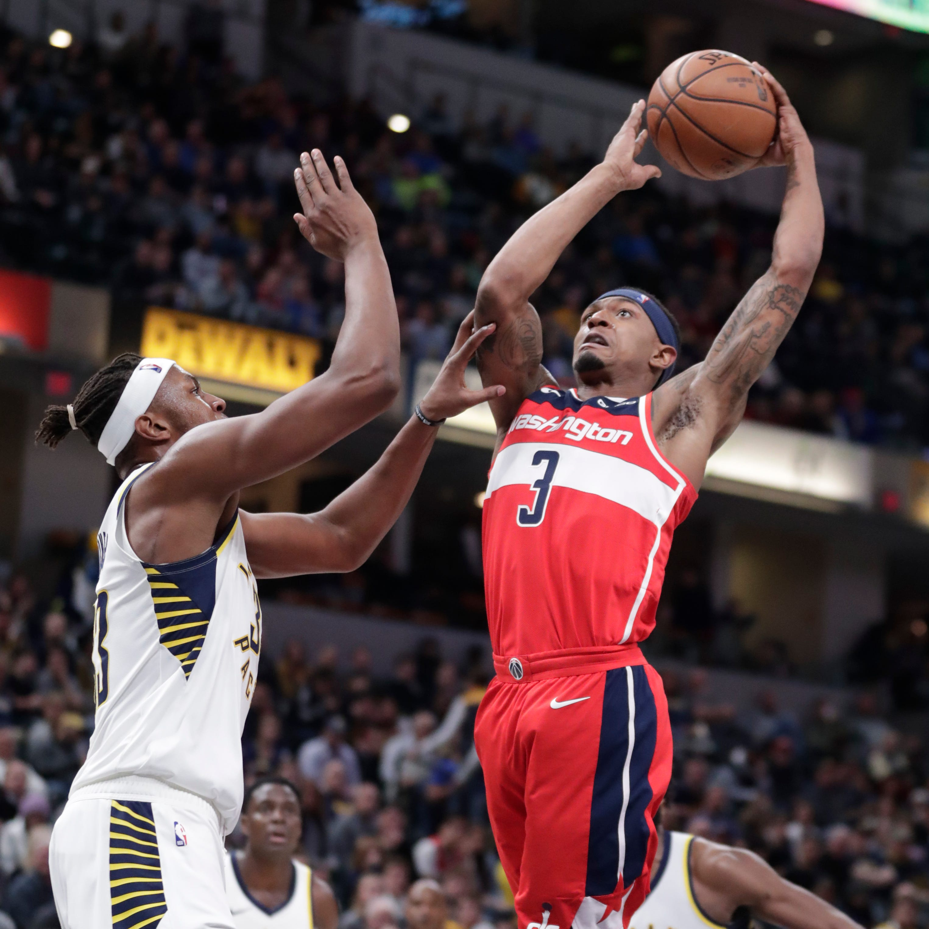 Myles Turner swats Wizards' hopes in Pacers' 4th straight victory