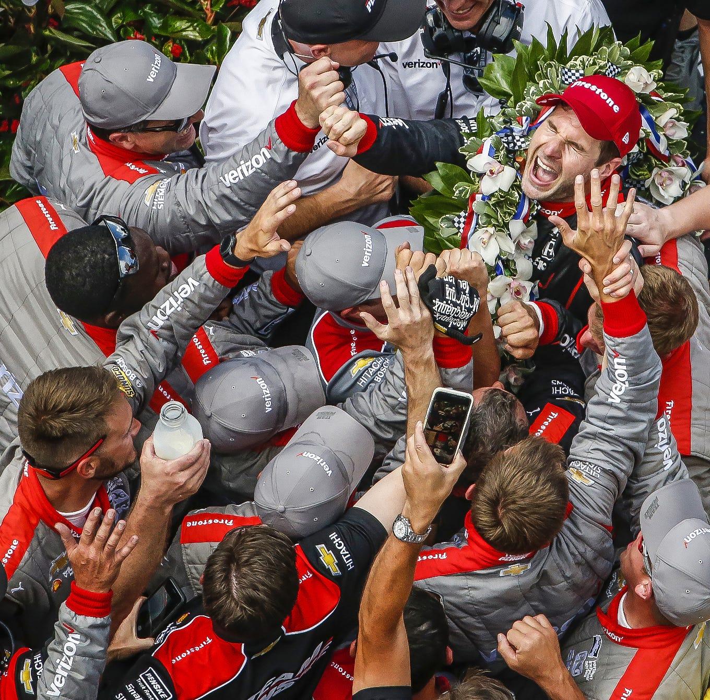 Team Penske IndyCar driver Will Power (12)...