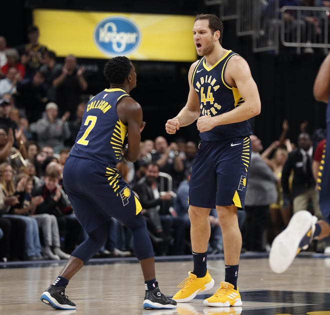 Bojan Bogdanovic and Darren Collison have both stepped up their game in Victor Oladipo's absence.