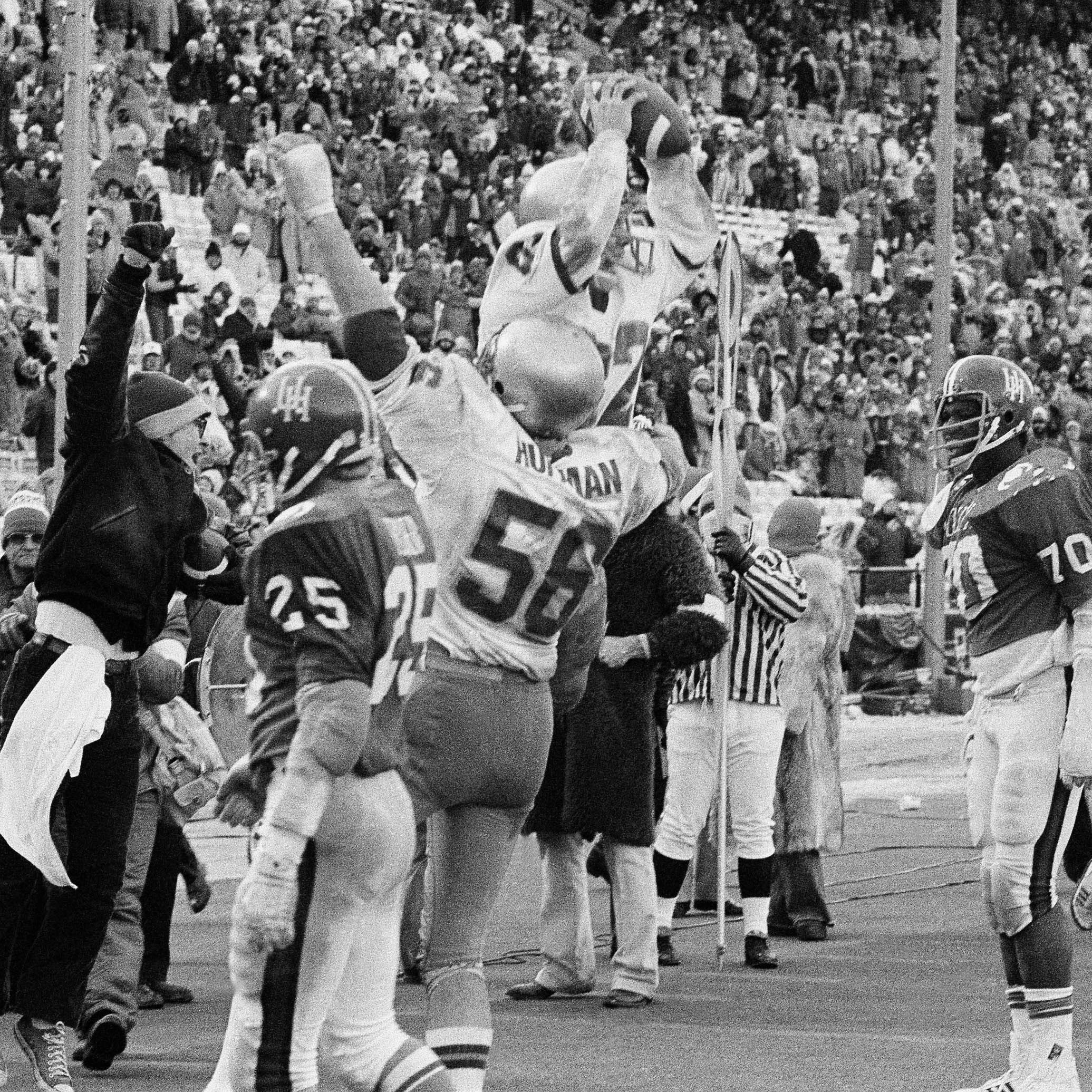 Chicken soup, bitter cold and a Notre Dame miracle at the 1979 Cotton Bowl