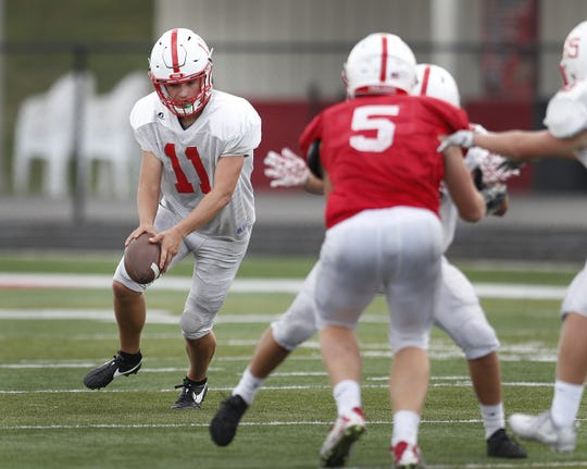 Center Grove's PJ Buck is the best high school punter in the state.
