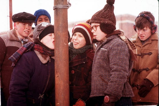 "A scene from Jean Shepherd's ""A Christmas Story""."
