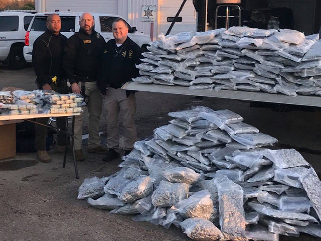 Over 300 pounds of marijuana seized in Rankin County