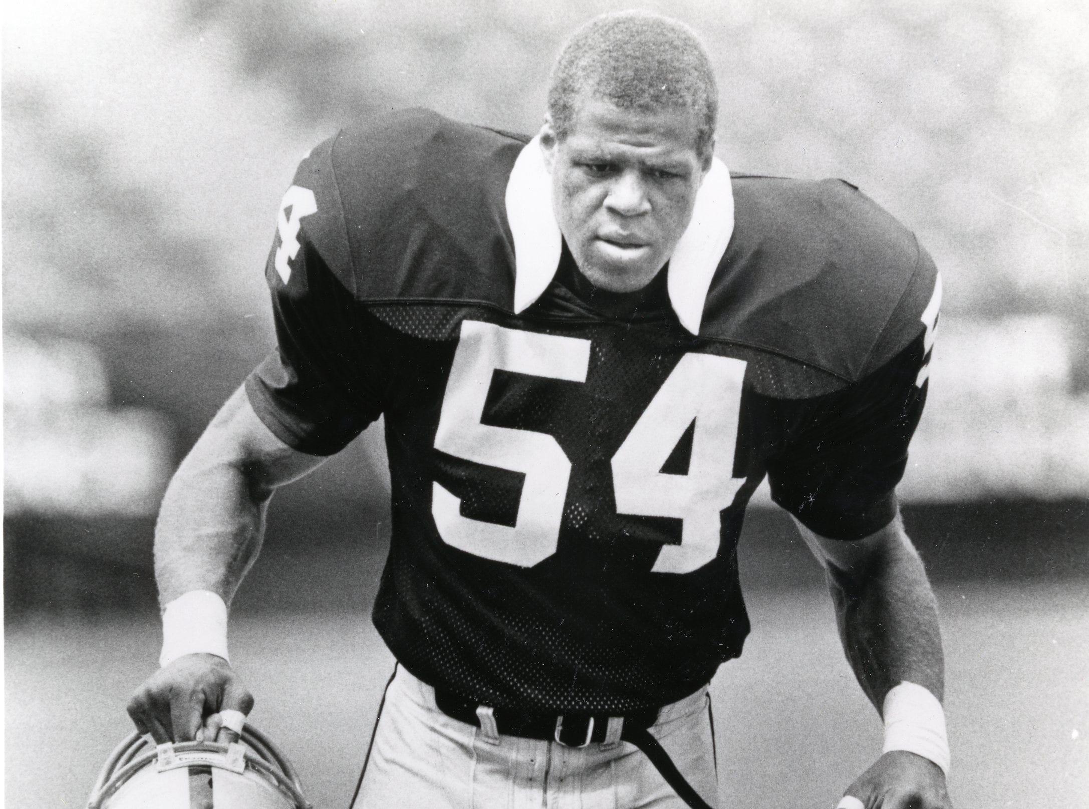 Reggie McKenzie, Los Angeles Raiders, 1990.
