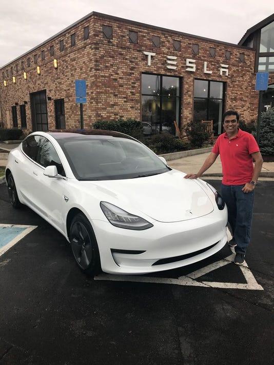 Giri Prakash Tesla