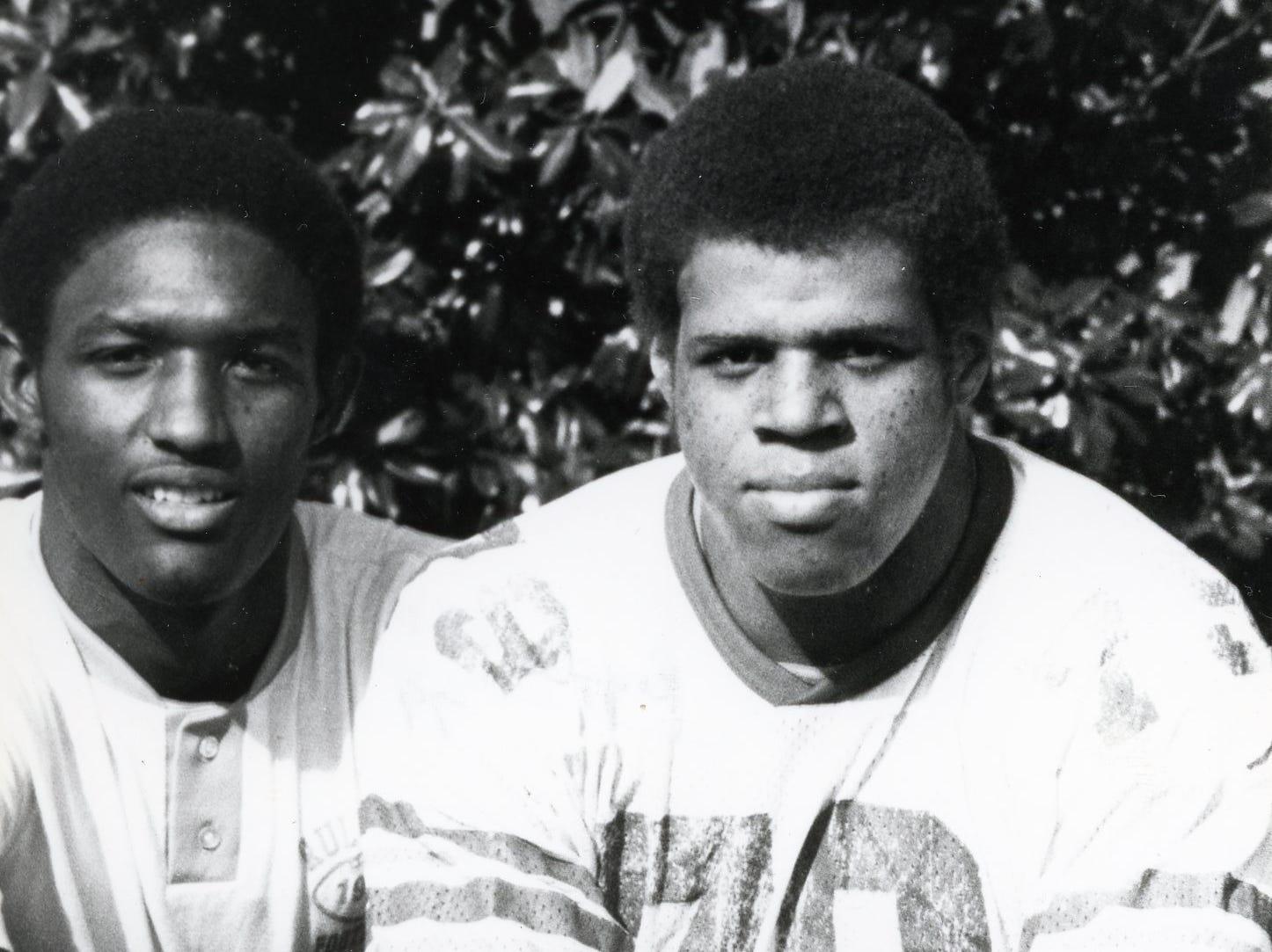 Reggie McKenzie, right, 1979