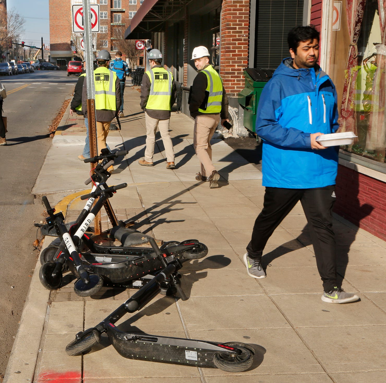 Bird scooters: West Lafayette resorts to towing as promises fall flat near Purdue