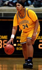 Leslie Johnson was a standout at Purdue during the 1993-94 Final Four season.