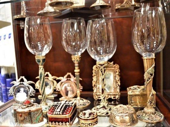 Edgar Berebi wine glasses sold at Jody's Inc.