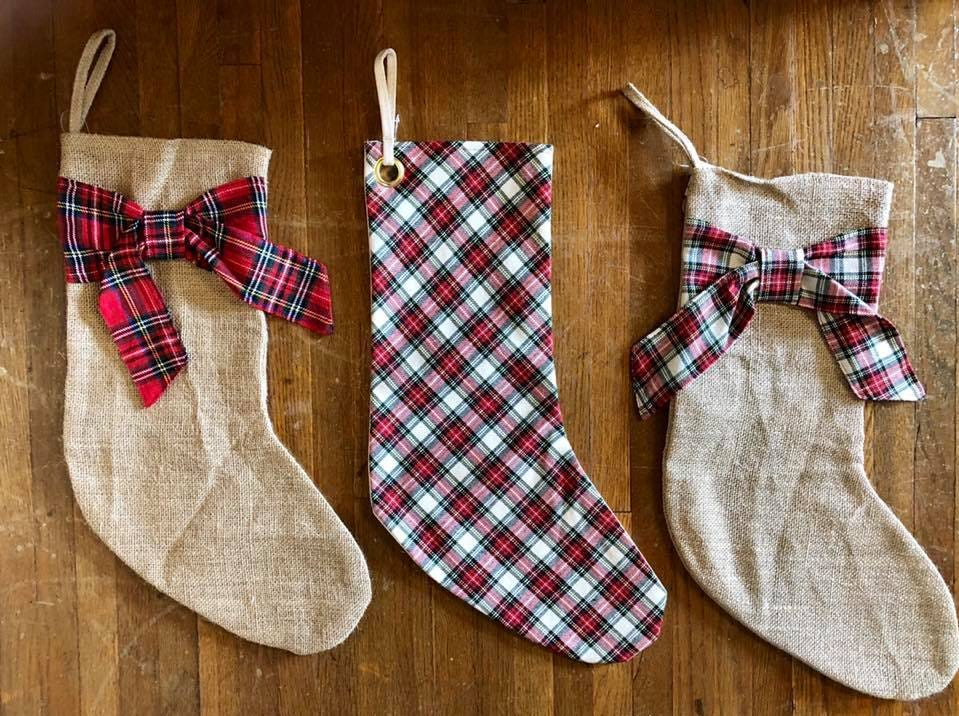 Simple and stylish stockings sold at The Gift Pod
