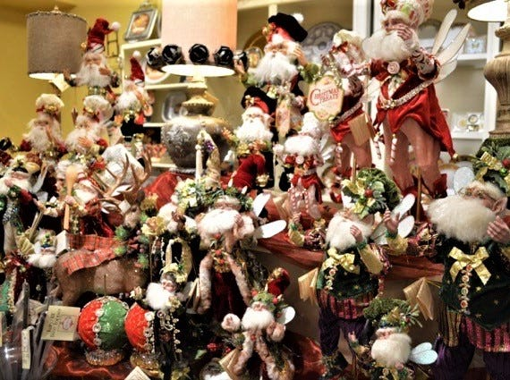 Mark Roberts collectible elves sold at Jody's Inc.