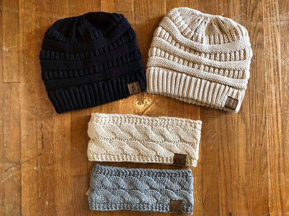 Looking for the perfect hat to give this season? Give a C.C. beanie, you can find these at The Gift Pod.
