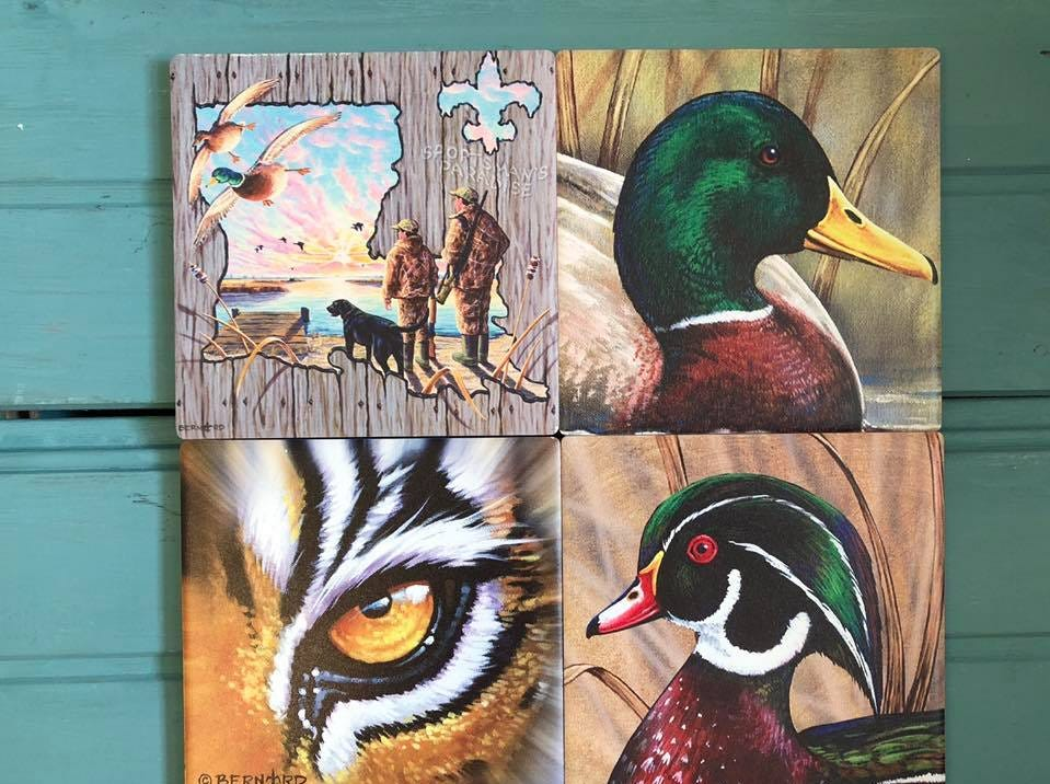 Paintings by local artist sold at The Gift Pod