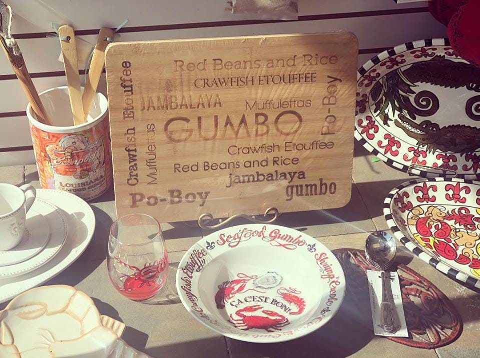 Louisiana-inspired kitchenware you can find at Louisiana Hot Stuff