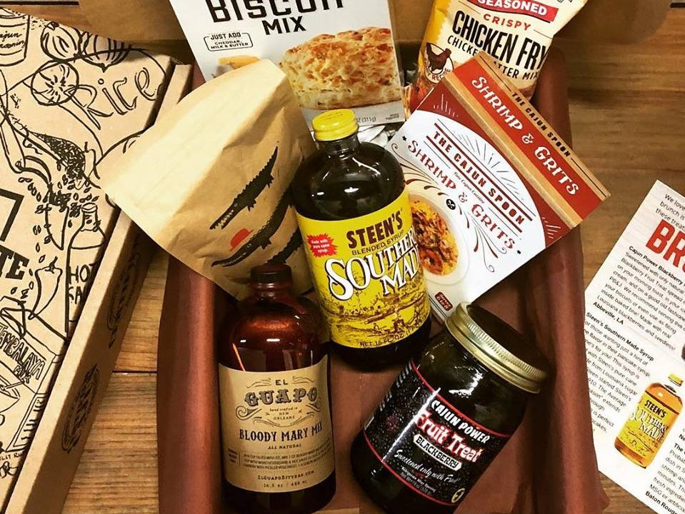 Give the gift of Louisiana culture with a subscription to Cajun Crate! (See related story for special offer)