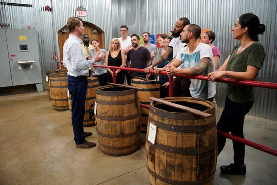 """Cheftestants get a tour of the Maker's Mark distillery on episode 2 of """"Top Chef"""" season 16."""