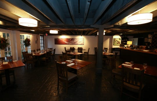 The dining room at 610 Magnolia.  Dec. 6, 2018