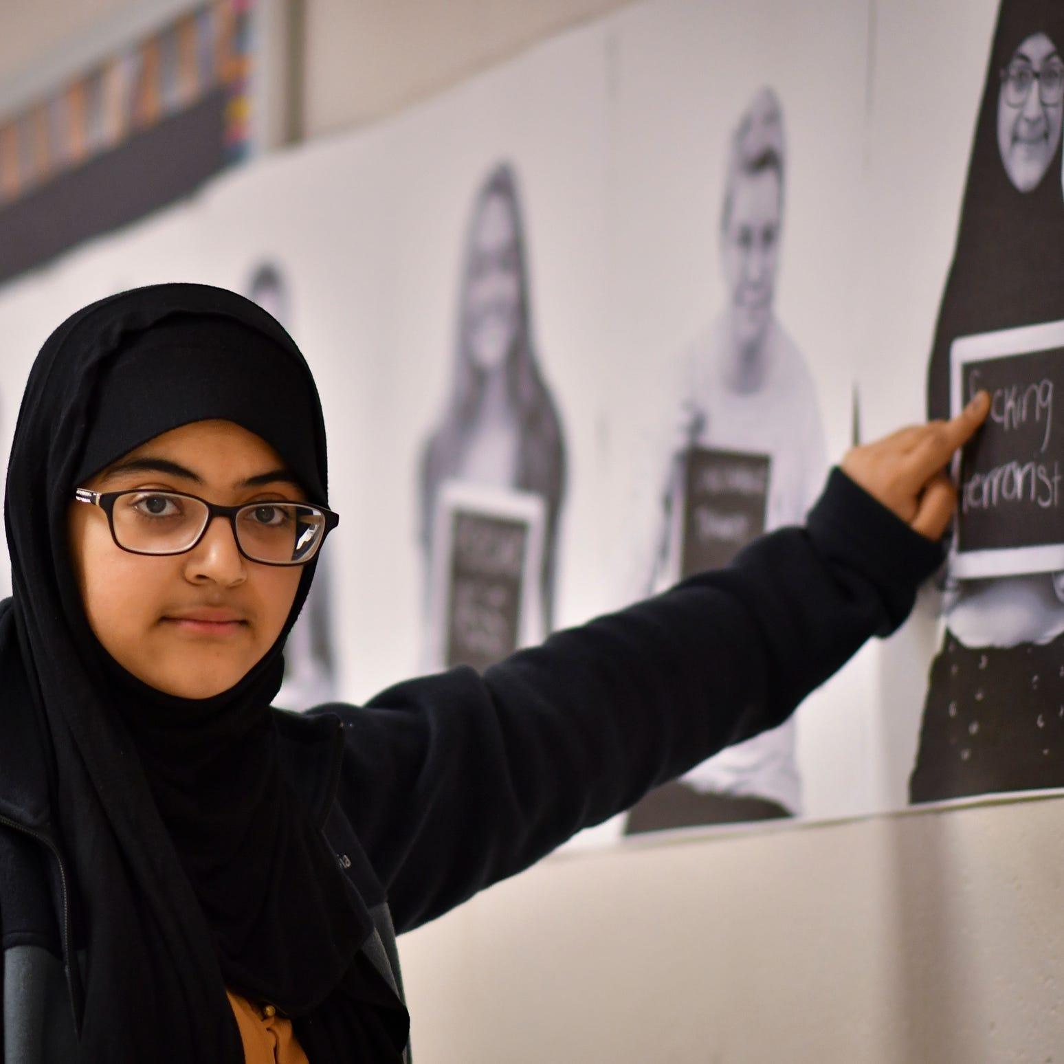 Seba Aldhamen,  a junior at Bath High School,...