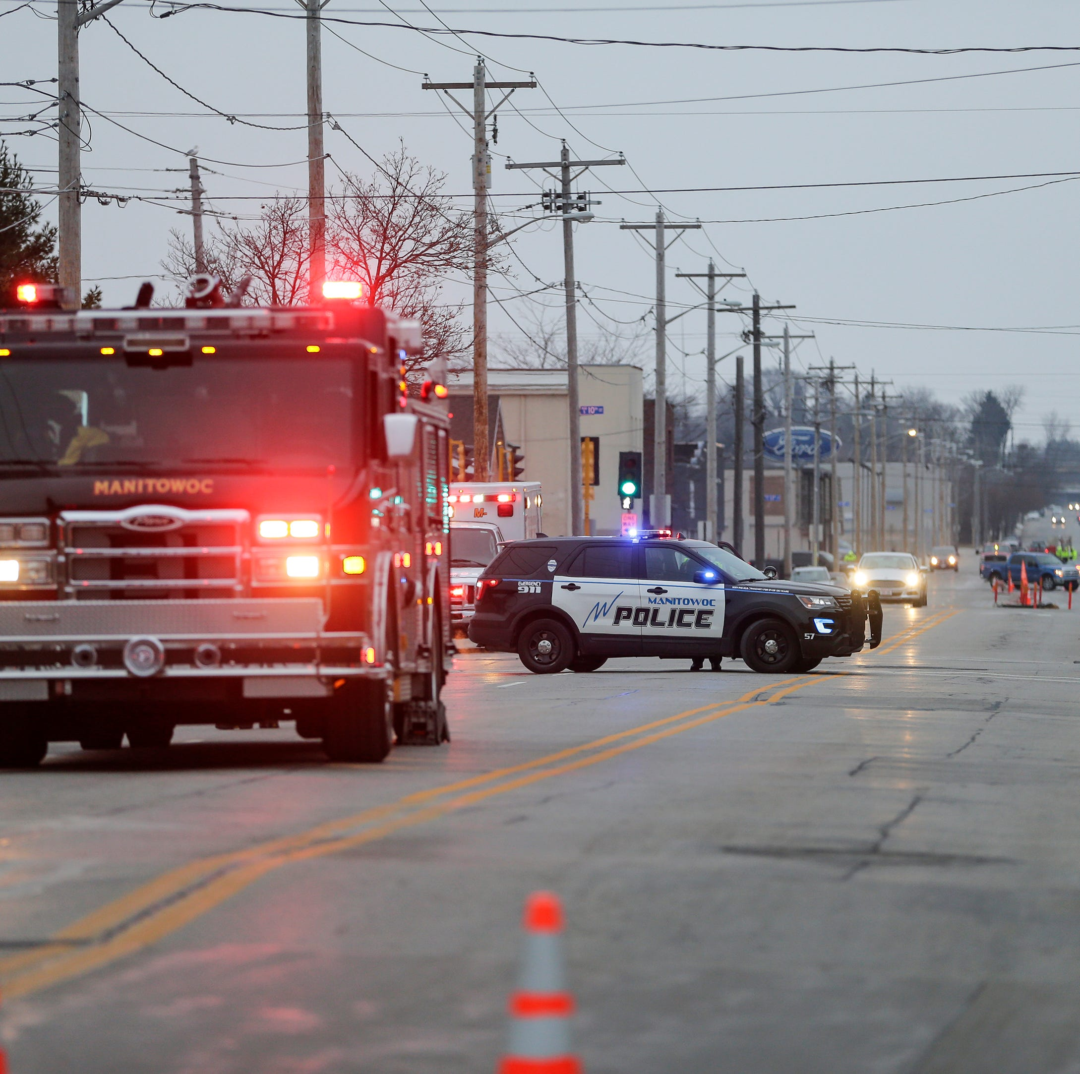 Manitowoc gas leak: Police evacuate portion of downtown near Eighth and Ninth streets