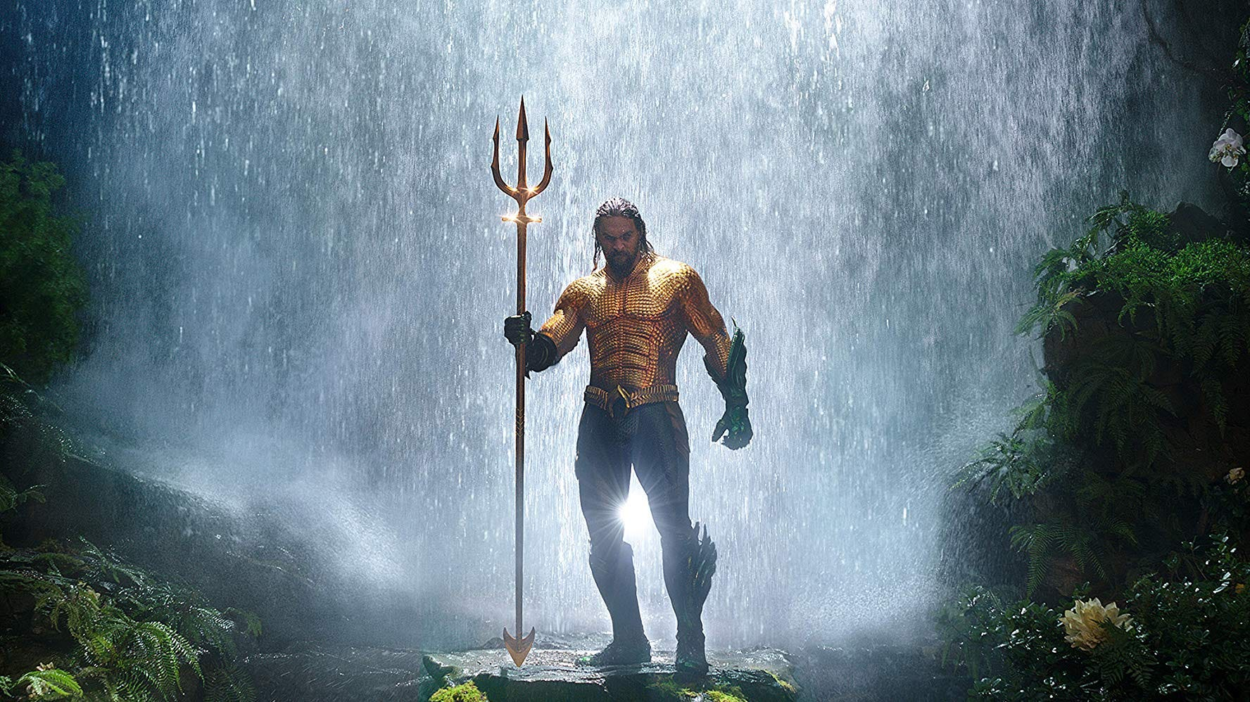 """Ripped beyond belief"": Jason Momoa is ""Aquaman."""
