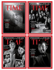 Time magazine issued four distinct covers to honor its 2018 Person (or Persons) of the Year