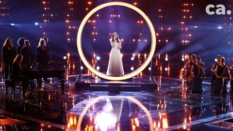 """Reagan Strange had two performances during the Top 8 of """"The Voice,"""" bouncing back from illness and almost being eliminated last week."""