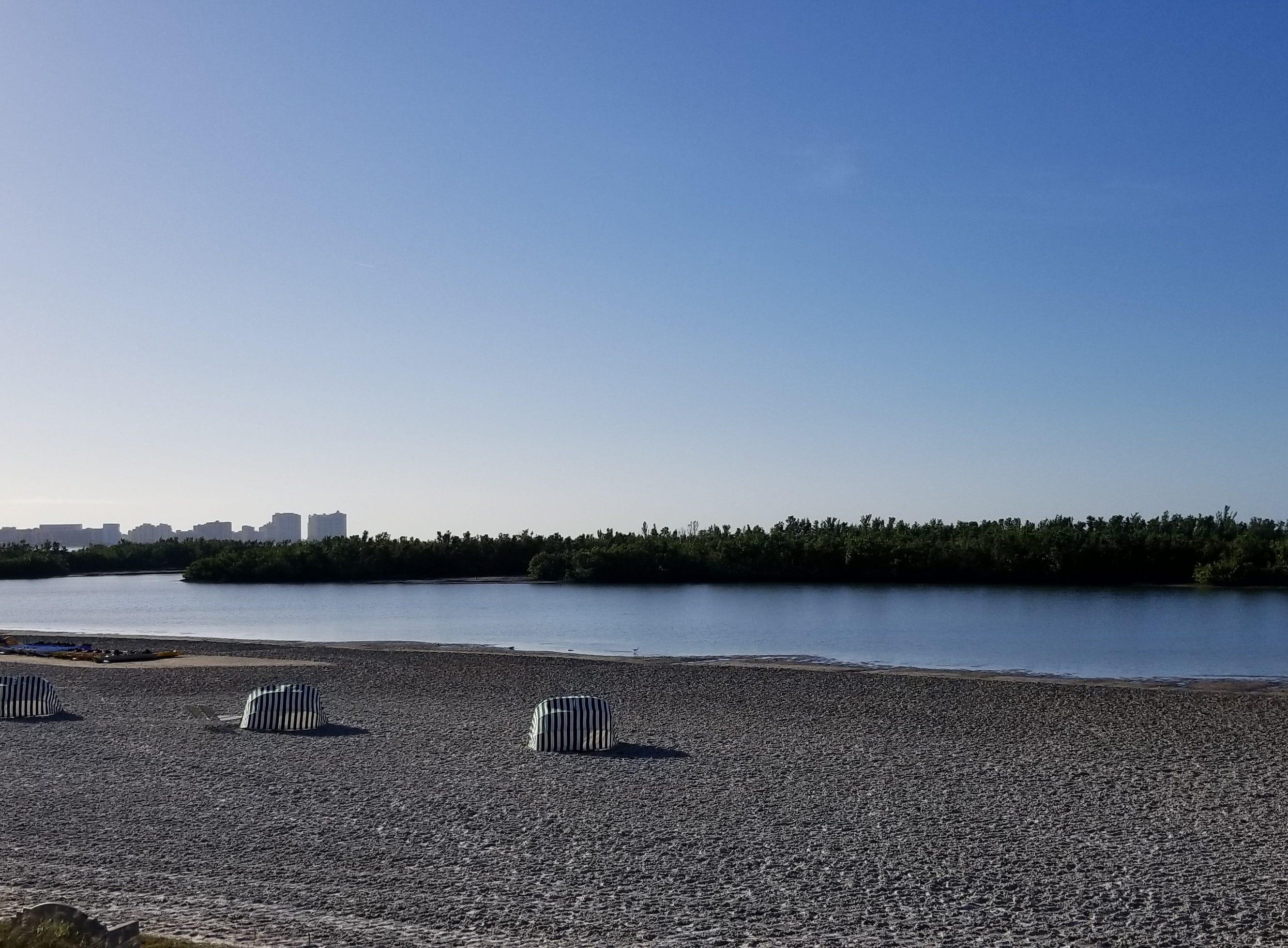 Photos: Group helps clean up Tigertail Beach Park