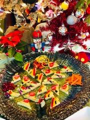 Vegan pizza triangles can be customized with various toppings to meet the requirements of different diets.
