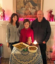 Lisa Castagnozzi, son Enzo and Enzo's father, Michael Litz, all follow different diets.
