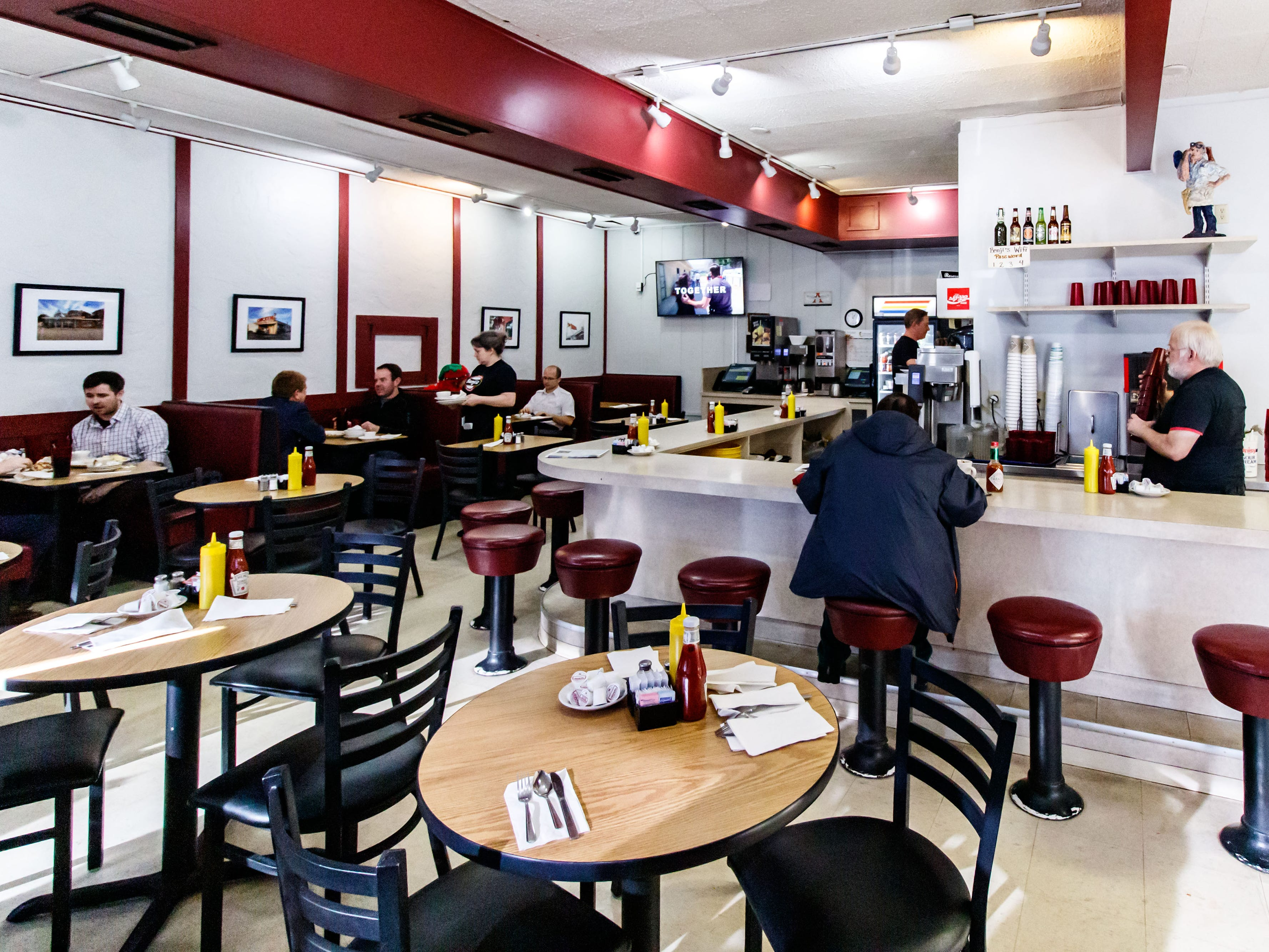 Benji's Delicatessen in Shorewood serves breakfast, lunch and dinner, and features ample seating along with take out.