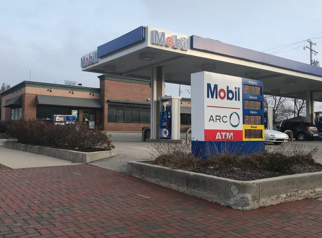 A strong-armed robbery was reported Saturday, Dec. 8 at this Mobil station at 1513 E. Capitol Drive, Shorewood.
