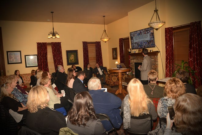 The Orbis Corp. recently held its annual community giving reception.