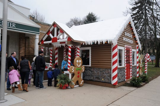 Families are advised to arrive at the beginning of a shift this weekend if they want to visit Santa in his workshop.