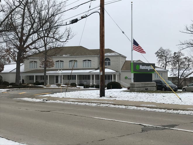 A Huntington National Bank branch in Allouez.
